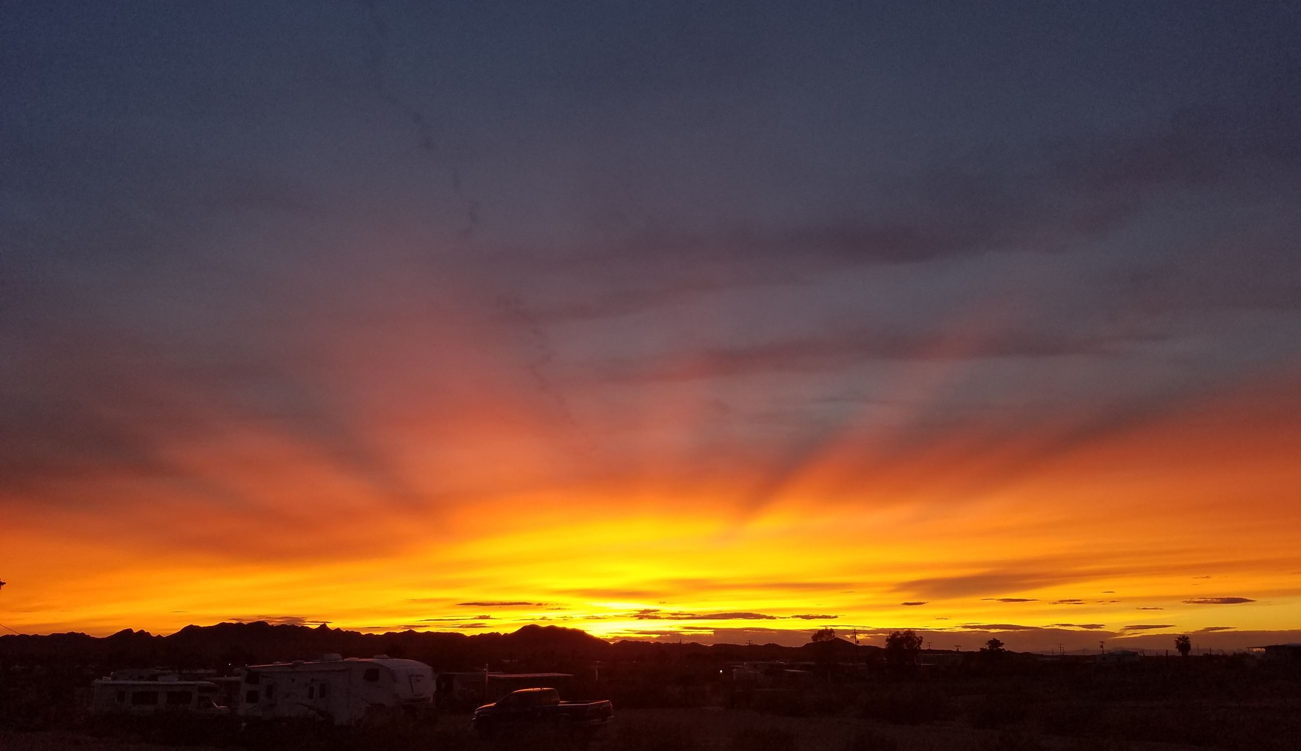 Photo of Sunset in Bouse